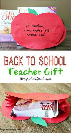 Back to School Teacher Gift - The Melrose Family