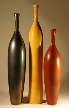 Elongated shaped bottles. #bottles