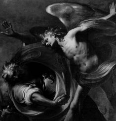 The Struggle of Jacob and the Angel by Pietro Ricchi, c. 1650. 978