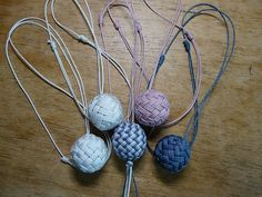 Pineapple Knot Necklaces