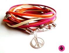 "Leder Wickelarmband ""Wintersonne"" Armband Damen von  ❀Fashion-Princess❀ auf DaWanda.com Jewlery, Etsy, Personalized Items, Fashion, Leather, Moda, Jewerly, Fashion Styles, Schmuck"