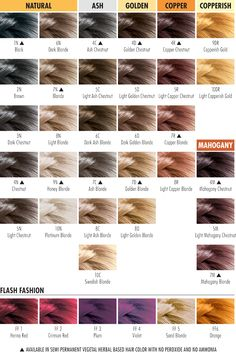 Herbatint Color Chart. Herbatint is vegan and safe! Even though regular dyes are said to be safe, they contain harmful chemicals (many of which are linked to various cancers and other health issues) NO MORE AMMONIA NO MORE SMELL NO MORE PERFUME NO MORE ALCOHOL NO MORE PARABENS LESS PEROXIDE WITH A NATURAL RESULT 100% GREY COVER
