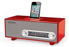Crosley Ranchero Retro - iPhone Dock