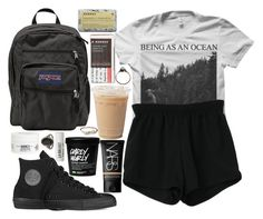 """Simplon"" by velvet-ears ❤ liked on Polyvore featuring Retrò, Converse, NARS Cosmetics, JanSport, Korres, Kiehl's and L:A Bruket"