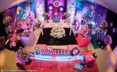 Festa Monster High, decoração da festa