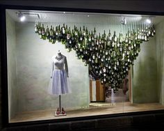 Anthropologie's Holiday Windows; Turkey Burns at SoulCycle