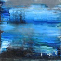 abstract N° 1038, Koen Lybaert, oil on canvas on wood, #art