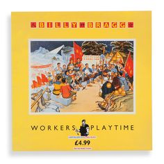 Billy Bragg - Worker's Playtime, Front Cover