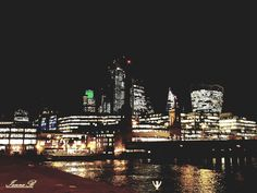 London New York Skyline, London, Travel, Viajes, Trips, Traveling, Tourism, Vacations