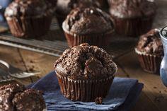 A csoki és a Nutella külön-külön is csábító, ebben a muffinban pedig épp mindkettő benne van.