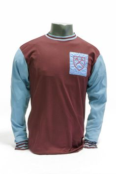 Bobby Moore West Ham shirt, 1963 (on loan @ the NFM). Football Boots, Football Soccer, Bobby Moore, West Ham United Fc, Classic Football Shirts, Football Images, Classic Image, Club Shirts, Museum Collection