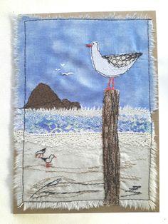 The fat seagull card