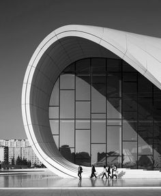 The Heydar Aliyev Center |  Zaha Hadid Architects  Location: Baku, Azerbaijan