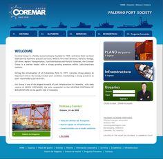 Sitio web para COREMAR - Año ©2010