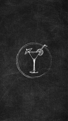 Instagram Story Icon Cocktail    #instagramstories #instagramstory #instagram #instagramcovers #instagramhighlights #socialmediagraphics Instagram Logo, Instagram Black Theme, Black And White Instagram, Instagram Grid, Instagram Frame, Free Instagram, Creative Instagram Stories, Instagram Story Ideas, Drink Icon