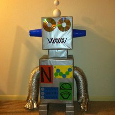 Robot for my son's birthday party