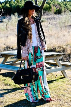 not diggin the sweater... but the skirt is unreal!! (and i just bought myself that hat, so obv i love it!)