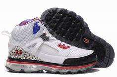 Air Max Jordan 3.5 Fusion-Blue White Black