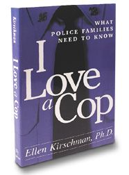 """""""I Love a Cop"""" By Ellen Kirschman. This is a good book! I was given a copy by my husbands boss when he graduated the academy. Cop Wife, Police Officer Wife, Police Wife Life, Police Family, Leo Love, I Love My Wife, Love And Marriage, Marriage Tips, Happy Marriage"""