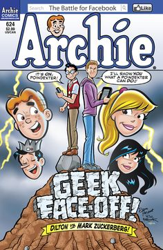 Buy Archie by Dan Parent, Digikore Studios, Ian Flynn, Jack Morelli, Jim Amash and Read this Book on Kobo's Free Apps. Discover Kobo's Vast Collection of Ebooks and Audiobooks Today - Over 4 Million Titles! Archie Comic Books, Archie Comics, Archie Betty And Veronica, Josie And The Pussycats, Animal Projects, Face Off, For Facebook, Comic Covers, Fiction