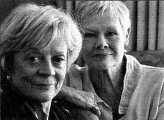 Maggie Smith & Judy Dench - two of my favorite actresses. I hope I am as badass awesome as they are when I grow up.