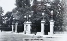 Old Pictures, Old Photos, Iron Railings, Brighton And Hove, The Old Days, Main Entrance, Preston, Gates, Past