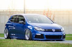 Golf 6 R Blue just looks so good!