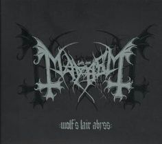 Mayhem ‎– Wolf's Lair Abyss (front)