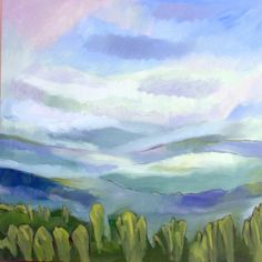Untitled Landscape #4 by Steven Miller, Painting - Oil | Zatista