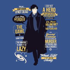 Sherlock quotes tee