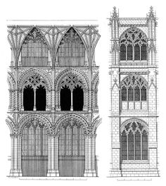 Elevation of Ely Cathedral