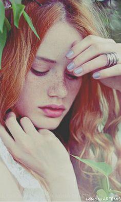 Nancy Schneider #model #german #redhair