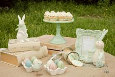 Little Big Company   The Blog: Easter Table by 3's A Party Candy Buffets and Party Supplies