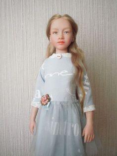 Рассмотрим основные этапы создания куклы из полимерной глины - Ярмарка Мастеров - ручная работа, handmade