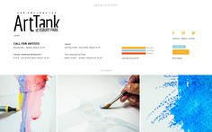 Using a dynamic grid system, M studio designed and developed the Art Tank's website so users can see the contents of the page laid out before them in one quick glance. As part of our ongoing relationship with the Art Tank, M studio continues to promote the organization's classes and events with graphic design, traditional public relations, website maintenance, and digital marketing services. Website Maintenance, Asbury Park, Liquitex, Grid System, Digital Marketing Services, Public Relations, Contents, Design Elements, Relationship