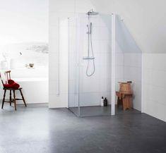 Måltilpasset dusj er å ta dusjen til skredderen - Bad. Bathtub, Furniture, Design, Home Decor, Toilet, Bathrooms, Houses, Tips, Homemade Home Decor