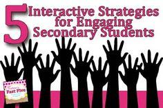 Faulkner's Fast Five: Making Learning Interactive: 5 Strategies for the Secondary Classroom
