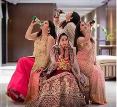 Celebrating best friend wedding| Create memories with your BFF– Bridesmaids photoshoot Ideas WE LOVED!