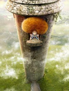 Rapunzel  by Alperen Kahraman  : )