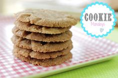 Cookie Butter Cookies - using only 3 ingredients!!! Cookie butter from #traderjoes #cookiebutter