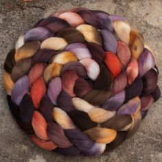 """Perfect Harmony"" Polwarth/silk Jan 2014"