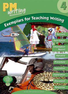PM Writing 4 Exemplars for Teaching Writing Books To Buy, New Books, Information Report, Teaching Writing, Book Design, Literacy, No Response, Language, Classroom