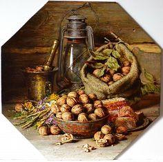 Орехи, мед и травы., автор Николаев Юрий. Артклуб Gallerix