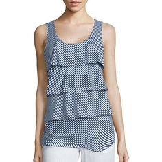 6e649bdbaa4bc4 recommendations - JCPenney - JCPenney. Striped Tank TopStripe TopTiered TopsSt  ...