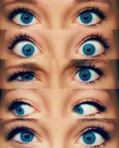 Blue eyes are defiantly a need for THIS girl!
