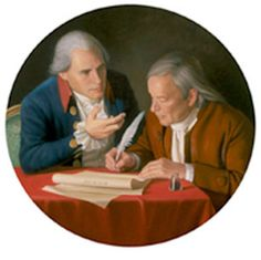 The Connecticut Compromise by Bradley Stevens depicts Roger Sherman and Oliver Ellsworth
