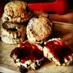Delicious scones made by Him Scones, Recipies, Muffin, Breakfast, Food, Recipes, Breakfast Cafe, Muffins, Rezepte