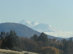 Mount Shasta in the Fall