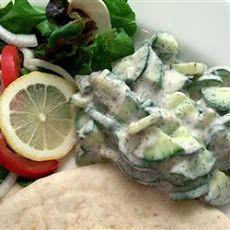 Persian Cucumber Yogurt (Maast-o Khiar) Recipe