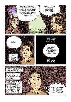 Sam Zabel and the Magic Pen page 126 by Dylan Horrocks